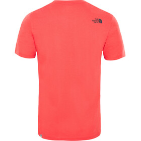 The North Face Easy S/S Tee Men salsa red